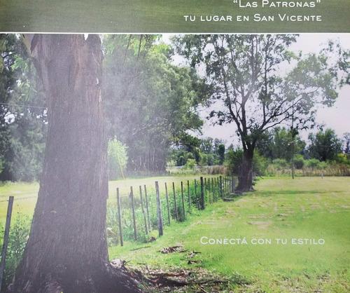 Loteo Residencial Las Patronas San Vicente