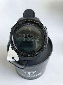 Relógio Tuguir Digital Pulseira Preta Ref: 1246