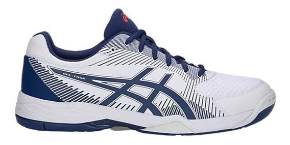 Zapatillas Asics Gel-task Blanca/azul - Corner Deportes