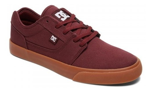 Zapatillas Dc Shoes Mod Tonik Tx Bordo Marron Coleccion 2020