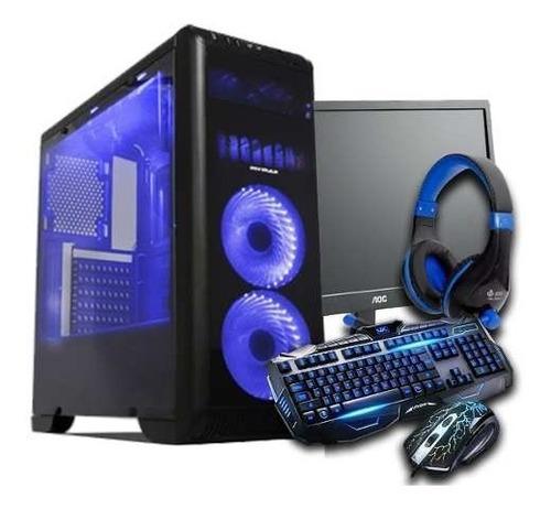 Pc Gamer I3-9100f, 8gb Ddr4, Gtx 1050ti, Kit Gamer Promoção