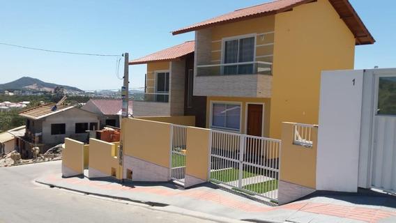 Sobrado Novo Com 2 Dormitórios À Venda, 83 M² Por R$ 195.000 - Loteamento Jardins - Palhoça/sc - So0637