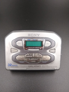 Sony Walkman Wm-fx491 Mega Bass Personal