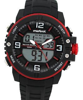 Reloj Mistral Gadx-vd Crono Alarma Luz Fecha 100m Watch Fan