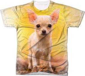 32a75f5745 Camisa Camiseta Animal Cachorro Cão Dog Chihuahua Amigo Fiel