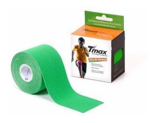 Bandagem Neuromuscular Elástica Adesiva - Tmax Verde