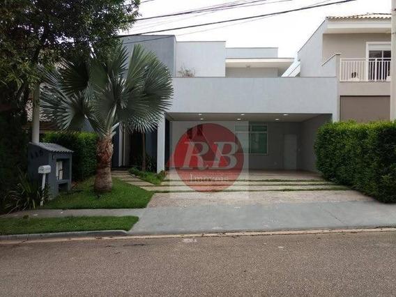 Casa Com 3 Dormitórios Para Alugar, 358 M² Por R$ 7.500/mês - Condomínio Tivoli Park - Sorocaba/sp - Ca0411