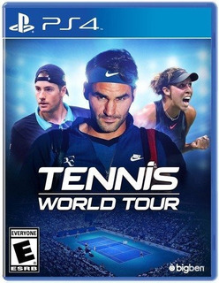 Tennis World Tour - Playstation 4 - Standard Edition