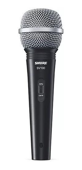Microfone Shure Sv 100 Multifuncional Nf Garantia 2 Anos