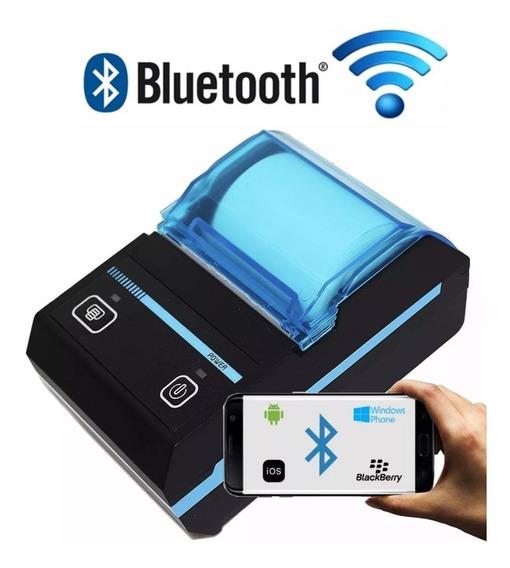 Mini Impressora Portatil Bluetooth Termica Kp-1020 Barato
