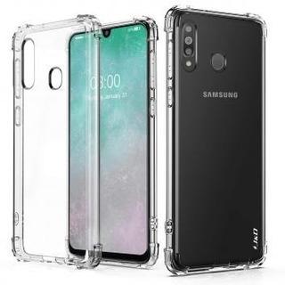 Capinha Anti Shock + Pelicula De Vidro Samsung Galaxy M30 -