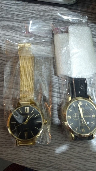 Relógio Luxo Geneva Pulso Social