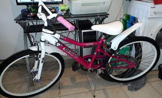 Bicicleta Musetta Como Nueva Rodado 24