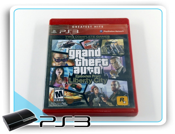 Ps3 Gta Episodes From Liberty City Original Playstation 3