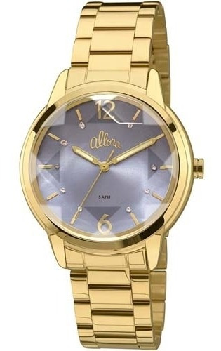 Relógio Feminino Analógico Al2036cj/4a Dourado - Allora