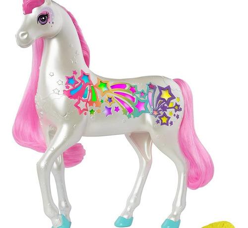 Oferta Barbie Unicornio Brillos De Arcoiris Original Mattel