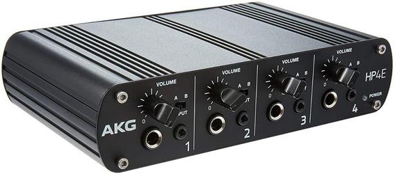 Amplificador De Fone De Ouvido Akg Hp4e - 4 Canais