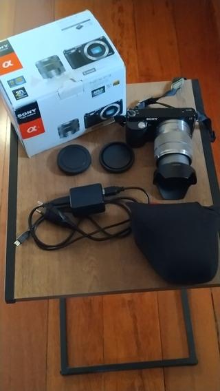 Câmera Sony Nex - F3 Com Lentes 18-55mm