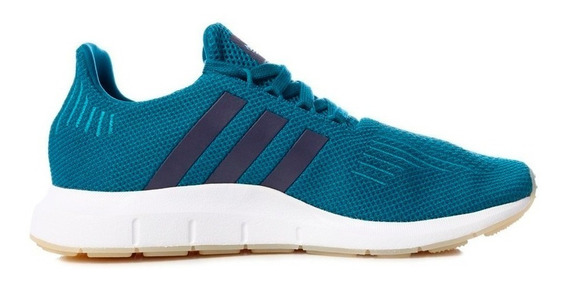 Tenis adidas Originals Swift Run - Azul - Mujer