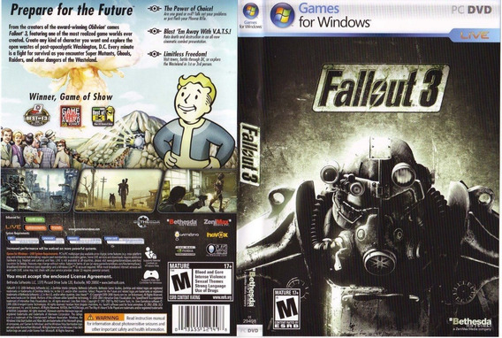 Fallout 3 Pc (dvds)