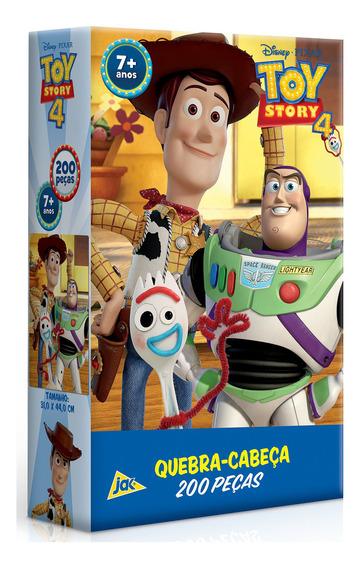 Puzzle Quebra Cabeça Toy Story 4 200 Peças Toyster