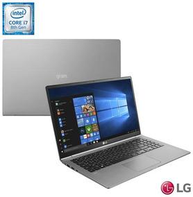 Notebook Lg I7 8550u 8gb 256gb Titânio Gram 15z980-g.bh72p1