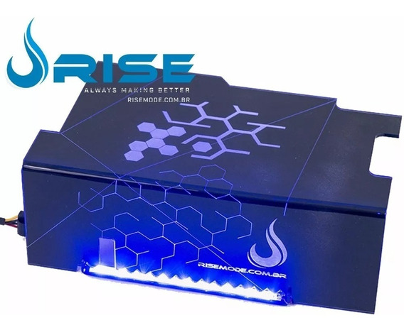Cover Psu Com Suporte De Ssd Ice Cold Led Azul - Rise