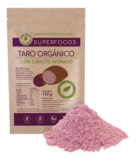 Taro Orgánico Morado 150g