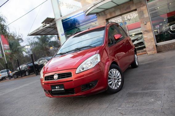 Fiat Idea Essence 1.6 16v Nafta 2012 Rojo