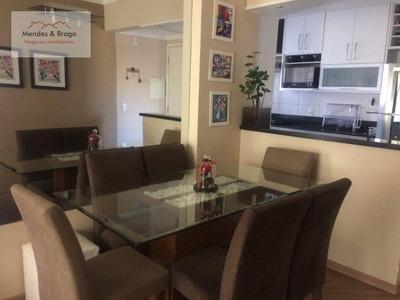 Apartamento Em Guarulhos Bem Estar 55mts 2dorm 1suite 1vaga Vila Rosalia - Ap1305