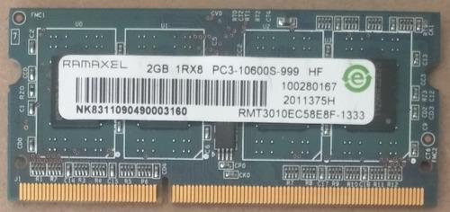 Memoria Ram 2gb Ddr3 Para Laptop