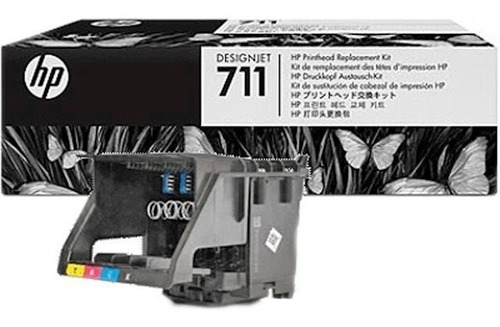 Kit Cabezal Y Cartuchos Hp 711 Plotter T120 T520 C1q10a