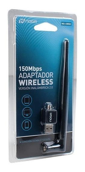 Adaptador Inalambrico Usb Red Noga Antena 150mbps Wifi