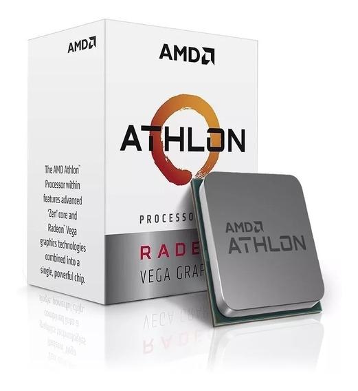 Kit Amd Athlon 200ge + Placa Mãe A320m + 8gb Promoção