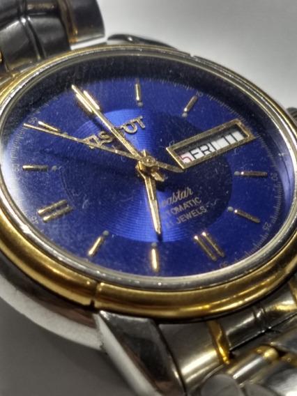 Relógio Tissot Seastar Aço E Ouro
