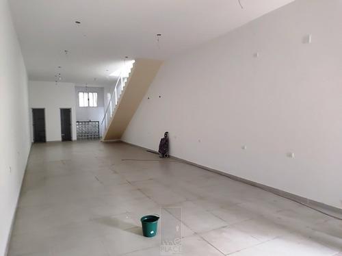 Salão Comercial Com 160m² 1 Vaga - Vila Mascote - Sc-0122-2
