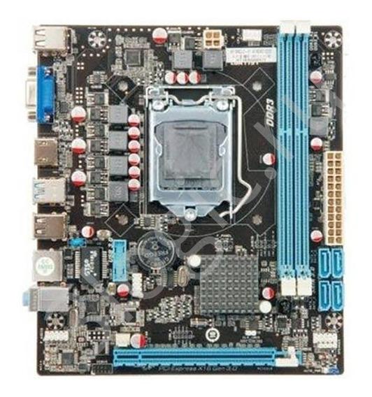 Placa Mãe Intel H110 Ddr3 Socket 1151 Foxcom H110ncl3 Oem