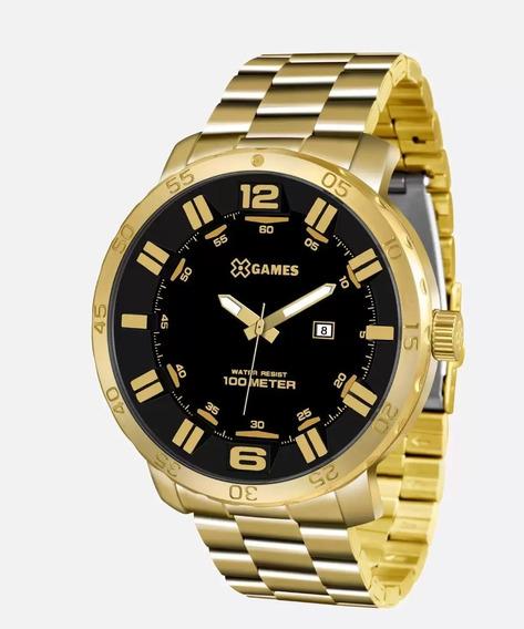 Relógio Masculino Golden X-games Orient Original Xmgs1022