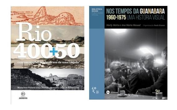 Nos Tempos Da Guanabara & Rio 400+50 Fotografia Frete Grátis