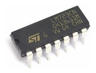 Imagen 1 de 5 de Lm723 Reg. Ajustable 2v A 37v 150ma Originales St X5 Unidade