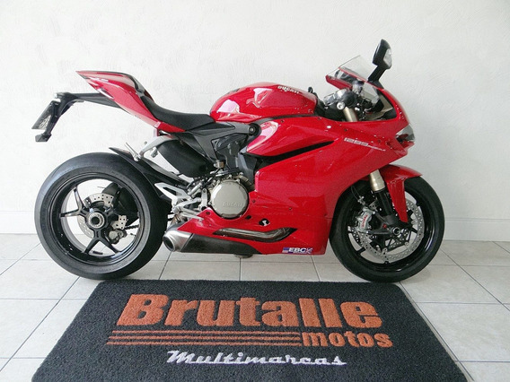 Ducati 1299 Panigale Vermelha