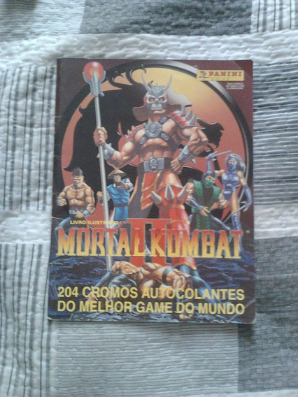Allbum Panini Mortal Kombat Ii