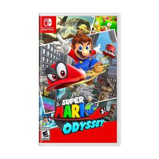 Super Mario Odyssey Switch Mídia Física Novo Lacrado