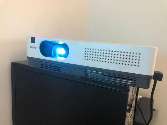 Projetor Xga Sanyo Modelo Plc-xw200 Semi-novo 1287 Horas