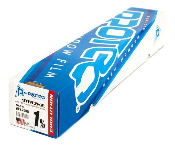 Protec Papel Ahumado Evolution 1% Oscuro 60mt X 50cm 2 Ply