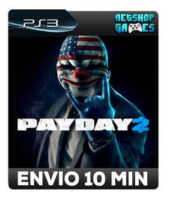 Payday 2 - Psn Ps3 - Oferta - Pronta Entrega
