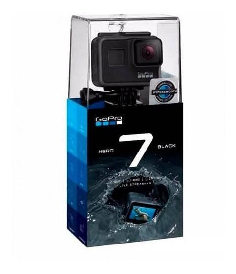 Gopro Hero 7 Black + Bateria Extra + Cartão Sd + Acessorios