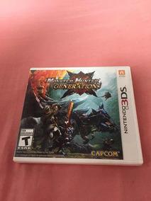 Jogo Monster Hunter Generations Nintendo 3ds