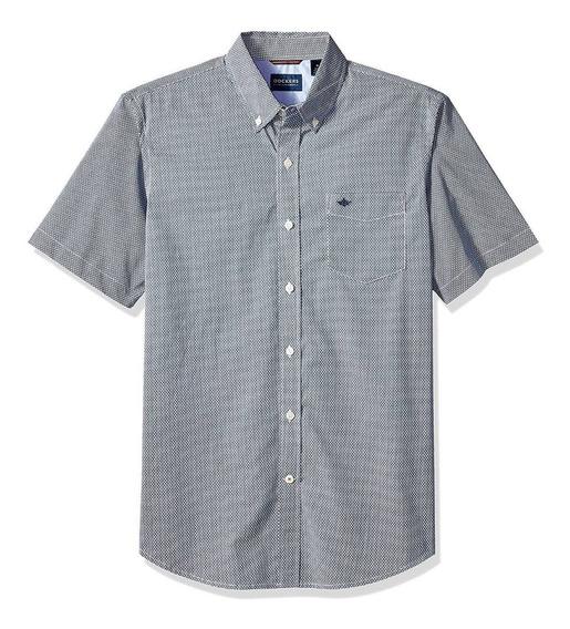 Dockers - Camisa Manga Corta Para Hombre, C: Bruns Ocean B