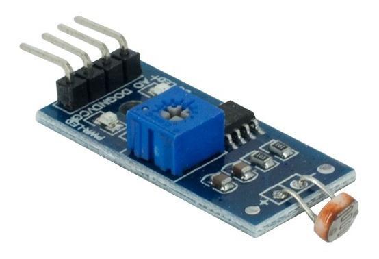 Sensor Ldr Luz Digital Analagico Arduino Pic Raspberry